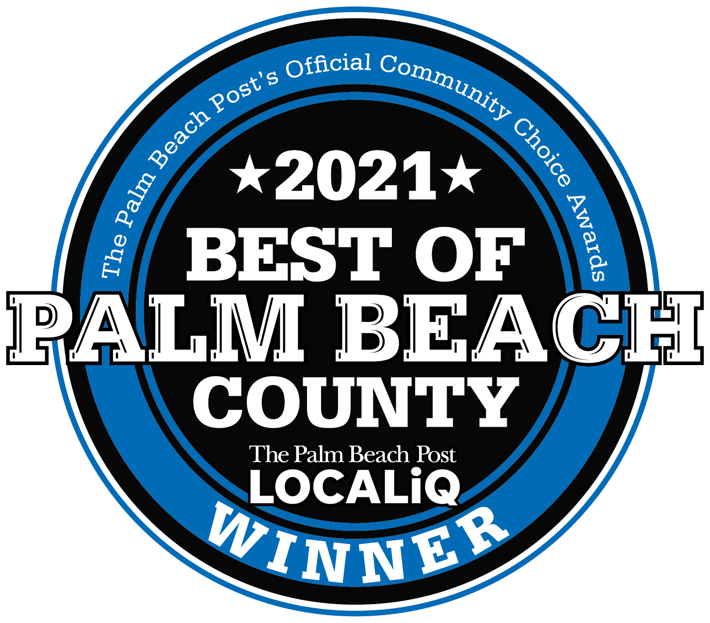 Best Of Palm Beach County 2021 Logo