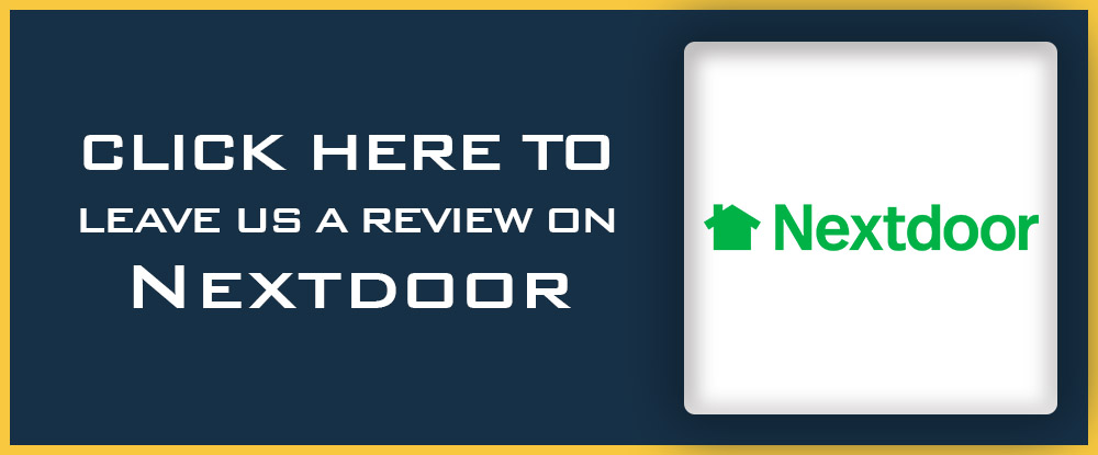 Leave us a review on Nextdoor